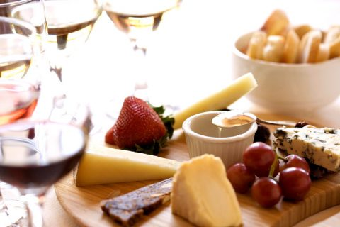 Wine & Cheese Flight