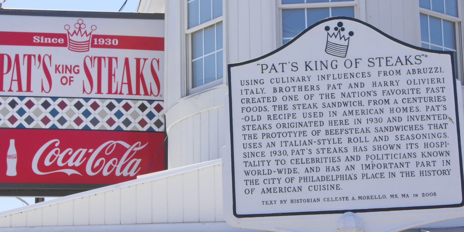 Pat's King of Steaks near Penn's View Hotel