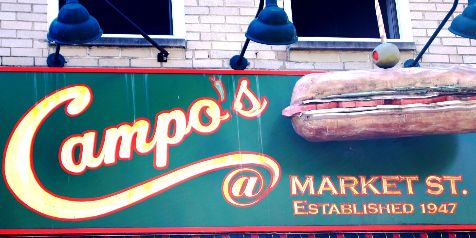 Campo's Cheesesteaks near Penn's View Hotel