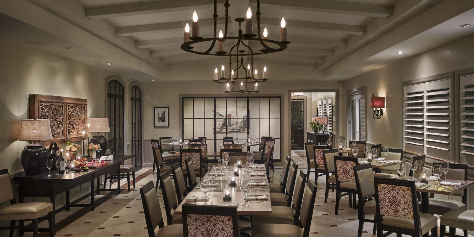 Panorama dining room