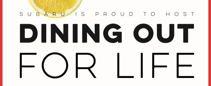 dining out for life event